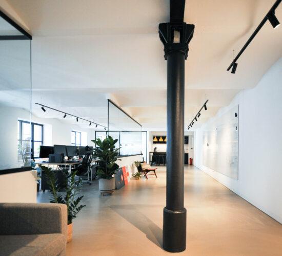 Büroumbau, Innenarchitektur, Düsseldorf, Interiordesign, Officedesign