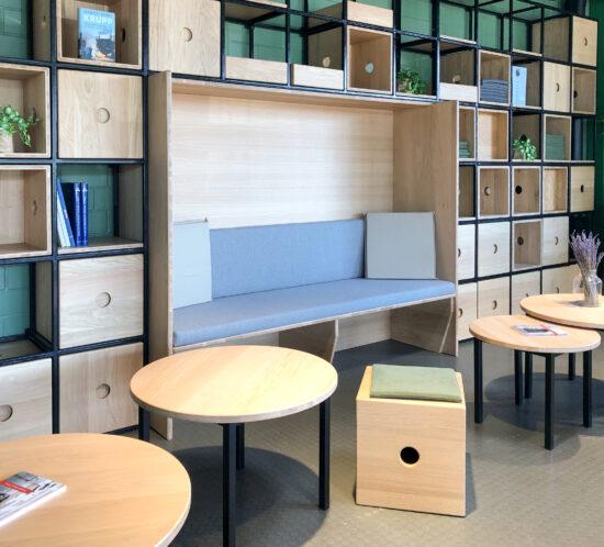 Restaurantdesign, Cafe, Innenarchitektur, Architektur, Interiordesign, Corporate Design
