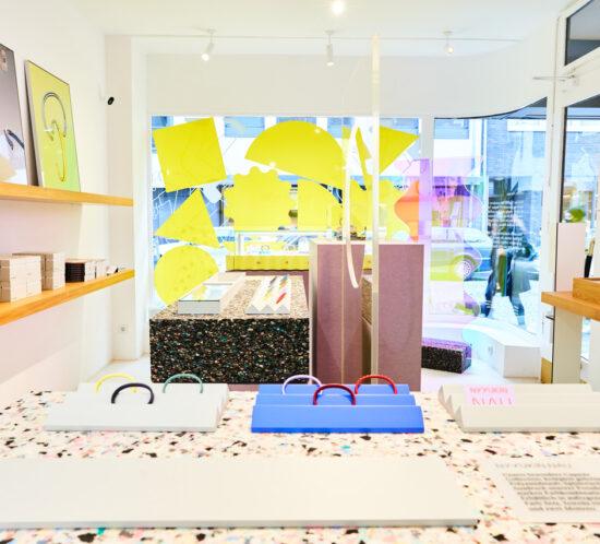Nyyukin PopUp Store, Innenarchitektur, Interiordesign, Storedesign