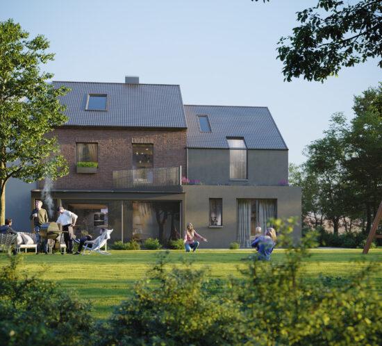 Generationenwohnen, Anbau, Architektur, Krefeld